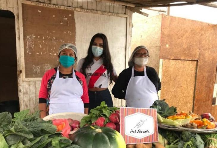 HUK ÑISQALLA ayuda a madres luchadoras de Lima Norte