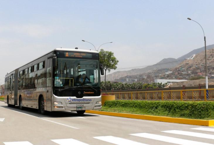 Ampliación tramo en Lima Norte del Metropolitano