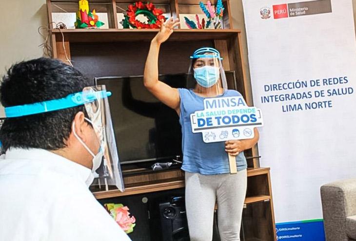 Hogares protegidos del MINSA en Lima Norte