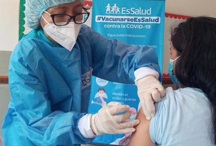 Vacunación del coronavirus en Lima Norte