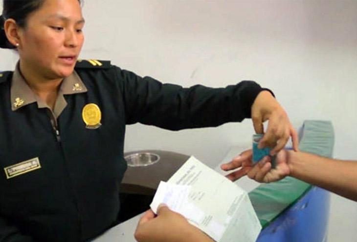 Certificado de antecedentes policiales en Lima Norte
