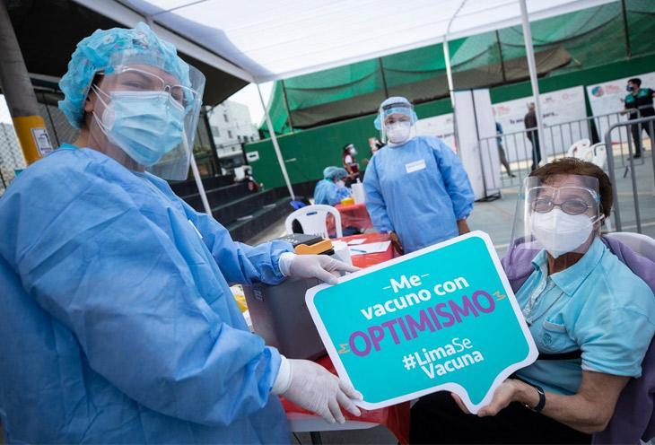 Vacunatorios contra el Covid-19 en Lima Norte